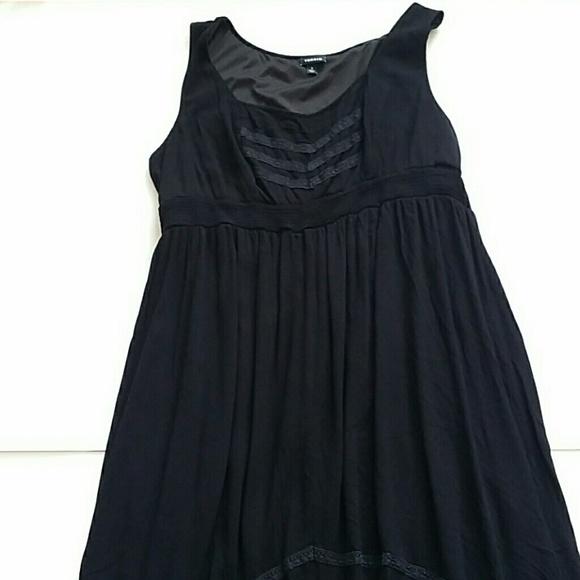 torrid Dresses & Skirts - TORRID black hi lo sleeveless dress